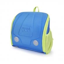 Школьный ранец с ортопедической спинкой YUU Max BLUU с сумкой для обуви и подарками