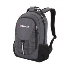 Рюкзак WENGER цвет серый/черный полиэстер 31264415-2
