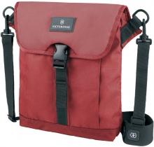 Сумка наплечная VICTORINOX Altmont™ 3.0 Flapover Bag, красная, нейлон Versatek™, 27x6x32 см, 5 л 32389203