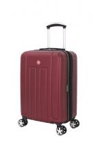 Чемодан WENGER Vaud цвет бордовый с подставкой для кофе АБС-пластик 53963