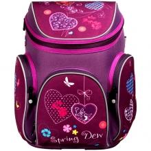 Ранец школьный MagTaller Boxi HEARTS 20616-65 без наполнения.
