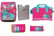 Ранец DerDieDas Ergoflex XL с наполнением Flamingo - Фламинго 000406-04