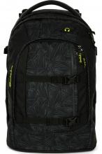 Рюкзак школьный ERGOBAG Satch Pack Black Bermuda с анатомической спинкой SAT-SIN-001-9L0