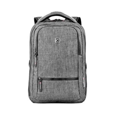 Рюкзак WENGER 14'' цвет темно-серый полиэстер 54678