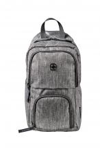 Рюкзак WENGER с одним плечевым ремнем цвет темно-серый полиэстер 54703
