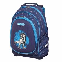 Рюкзак школьный Herlitz Bliss Blue Dino, без наполнения 50014019