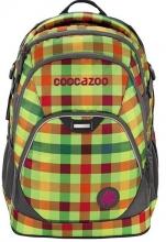 Рюкзак Coocazoo EvverClevver 2 Hip To Be Square Green - зеленый/оранжевый 00129873