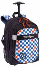 Рюкзак на колесах Bodypack Blue&Orange