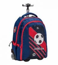 Рюкзак на колесах Belmil EASY GO FOOTBALL CLUB RED 338-45/661