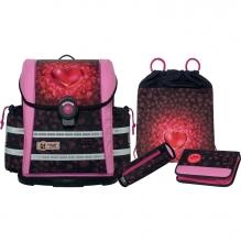 Школьный рюкзак  McNeill ERGO Light 912S Heartbeat - Сердцебиение 4 предмета 9620188000