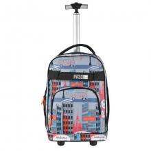 Рюкзак на колесах Paso BRODWAY 17-1230UY