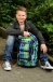 Рюкзак школьный ERGOBAG Satch Pack Blazing Grey SAT-SIN-001-847