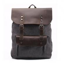 Рюкзак GINGER BIRD ГРОГ 16 чёрный/тёмно коричневый