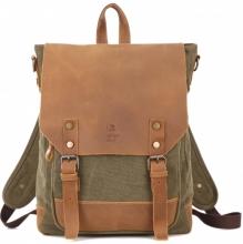 Рюкзак/сумка GINGER BIRD ГРАСС 16 зелёный.