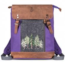Рюкзак GINGER BIRD 15 фиолетовый
