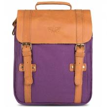 Рюкзак GINGER BIRD Винтер Пак 10 пурпурный (подкладка лисы)