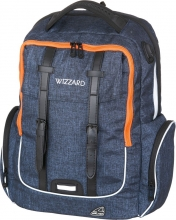 Рюкзак Walker Wizard Academy Dark Blue Melange, 32x46x18 см