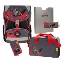 Ранец DerDieDas Ergoflex XL с наполнением Ninja on Bike - Ниндзя-байкер 000406-091