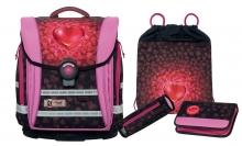 Школьный рюкзак McNeill  ERGO COMPACT Flex Heartbeat - Сердцебиение 4 предмета.