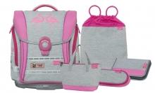 Школьный рюкзак McNeill  ERGO Light COMPACT Flex Flamingo - Фламинго 5 предметов 9613177000
