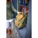 Рюкзак GINGER BIRD ГРОГ 15 c карманами зелёный.