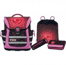 Школьный рюкзак McNeill ERGO Light PURE Heartbeat - Биение сердца 4 предмета 9628188000