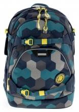 Рюкзак Coocazoo ScaleRale Blue Geometric Melange синий/бирюзовый 00183608
