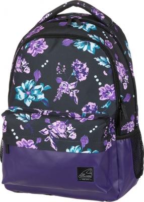 Рюкзак Walker Chap Classic Flower Violet, 32x45x23 см