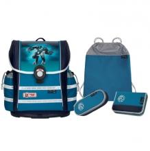 Школьный рюкзак MC Neill ERGO Light 912S STEELMAN - Стальной человек 4 предмета 9626203000.