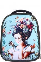 Школьный ранец Noble People Девочка с бабочками NP22