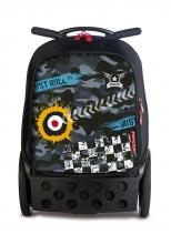Рюкзак на колесах Nikidom Roller Camo 9024