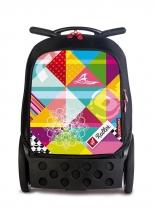 Рюкзак на колесах Nikidom Roller Supergirl 9025