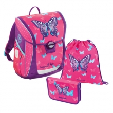 Ранец Step by step BaggyMax Fabby Sweet Butterfly 138520 с наполнением 3 предмета.