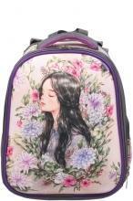 Школьный ранец Noble People Девочка с цветами NP45/19
