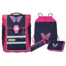 Школьный рюкзак McNeill ERGO PRIMERO Butterfly- Бабочка 4 предмета 9633196000