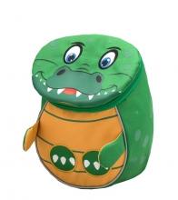 Рюкзак детский BELMIL - MINI ANIMALS Крокодильчик от 1 года до 3 лет.