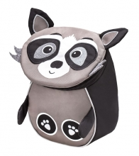 Рюкзак детский BELMIL - MINI ANIMALS Енот от 1 года до 3 лет.