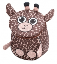 Рюкзак детский BELMIL - MINI ANIMALS Жирафик от 1 года до 3 лет.