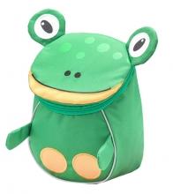 Рюкзак детский BELMIL - MINI ANIMALS Лягушонок от 1 года до 3 лет.