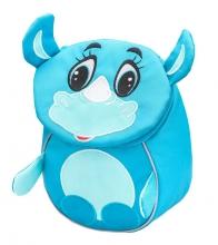 Рюкзак детский BELMIL - MINI ANIMALS Носорожек от 1 года до 3 лет.
