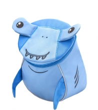 Рюкзак детский BELMIL - MINI ANIMALS Акуленок от 1 года до 3 лет.