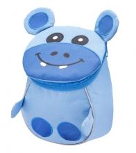 Рюкзак детский BELMIL - MINI ANIMALS Гипопотам от 1 года до 3 лет.