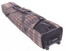 Чехол на колёсах для сноубордов и горных лыж 175 см коричневый ФРОСТ сб026.175к