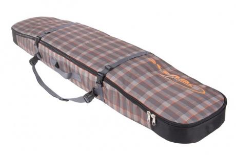 Чехол Course ФЬЮЖН-2 для сноуборда 175см коричневый-оранжевый сб027.175к