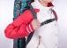 Чехол-рюкзак Course ФЬЮЖН для сноуборда 155см черная клетка сб024.155ч
