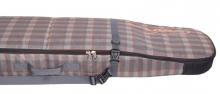 Чехол-рюкзак Course ФЬЮЖН для сноуборда 165 см коричневая оранжевая клетка сб024.165к