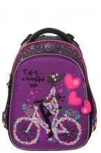 Школьный рюкзак Hummingbird Girl on a Bicycle T102(Pur)