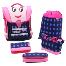 Школьный рюкзак McNeill  ERGO Light Compact flex Limited-Line Moody - Улыбка 5 предметов 909712000.