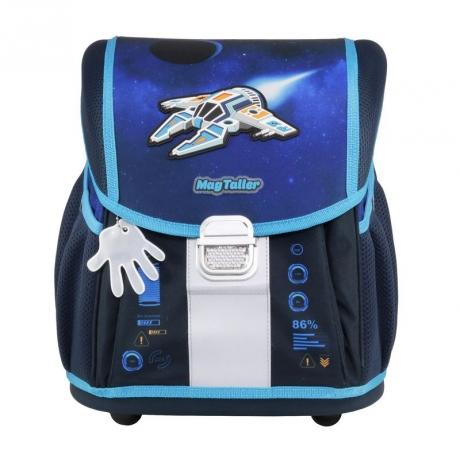 Ранец школьный MagTaller EVO Light Spaceship 20917-33 без наполнения.