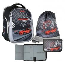 Рюкзак MagTaller Ünni Racing 41720-09 с наполнением 3 предмета.